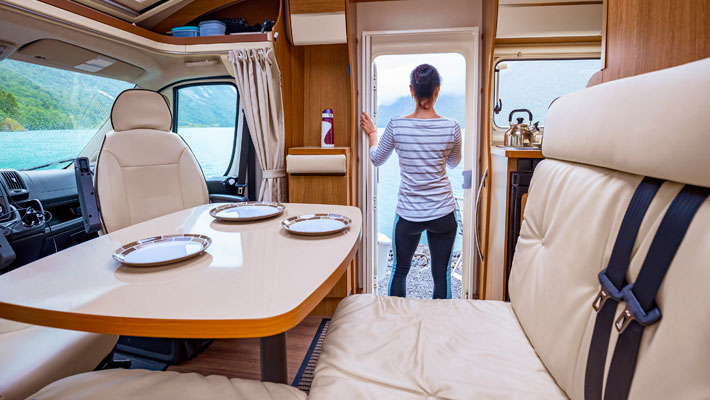 Hard surface repairs - caravans & motorhomes