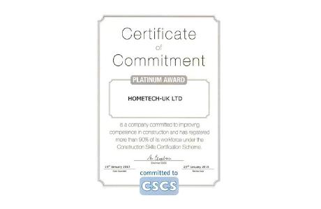 CSCS Certificate